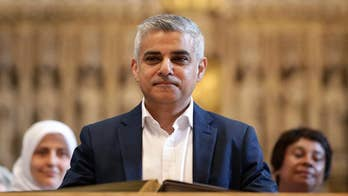 London mayor appears exasperated on knife crime questions, rolls eyes at reporter