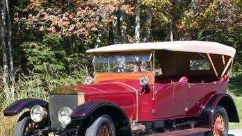 Historic Rolls-Royce vandalized, but stolen parts found