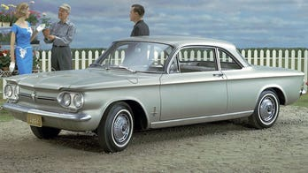 Tony Dow reunited with his 1962 Chevrolet Corvair after 51 years