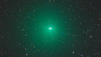 Stargazers have a chance to see bright green comet next week
