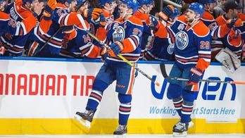 McDavid hits 100 points, Eberle has hat trick and Oilers win