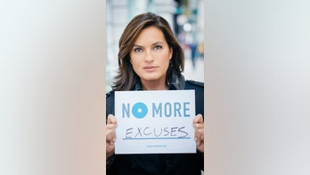 'Law & Order' star, NFL, men's group join to say 'No More' to domestic violence