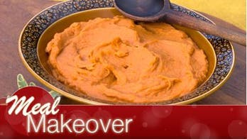 Naturally Sweet Smashed Potatoes for Thanksgiving