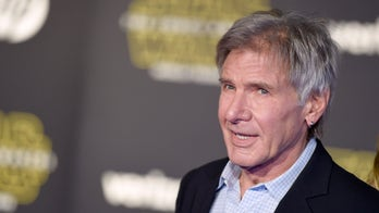 Harrison Ford mocks 'son of a b----' Donald Trump during Jimmy Kimmel appearance