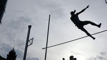 Pole vaulting accident leaves a champ a paraplegic