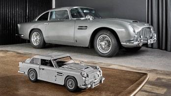License to build? Lego introduces 'Goldfinger' James Bond 007 Aston Martin DB5