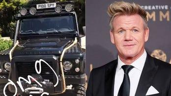 OMG, 007! Gordon Ramsay bought James Bond's truck