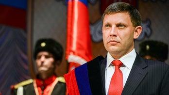 Ukraine separatists report death of leader Zakharchenko