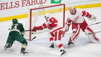 Zach Parise scores twice, Wild beat Red Wings 6-3
