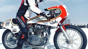 Vodka-powered motorcycle sets speed record