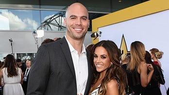 Jana Kramer welcomes baby boy with husband Mike Caussin: 'Our hearts are so full'