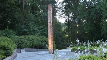 Steel column recovered from Ground Zero finds new home at CIA memorial