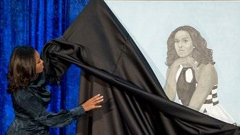 Michelle Obama portrait faces brutal mockery, some praise after unveiling