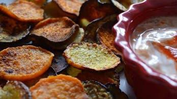 National Potato Chip Day: Baked Potato and Veggie Chips