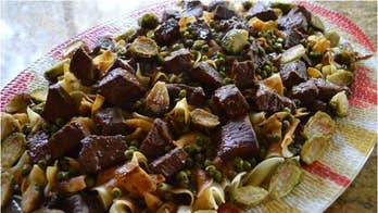 Mother's Day Recipe: Braised Beef with Roasted Brussel Sprouts