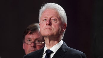 Painting of Bill Clinton in blue dress and heels was inside Jeffrey Epstein's NYC mansion: report