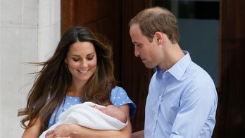 Royal Mint coins to mark Prince George christening