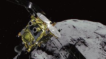 Japan's Hayabusa2 spacecraft successfully 'bombs' asteroid