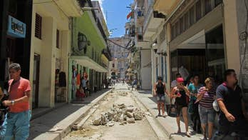Just apples in the produce aisle, lots of potholes and government snooping. My Cuba sojourn