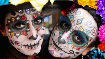 Celebrating the Day of the Dead, with an American twist