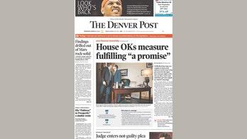 No big kiss -- the Denver Post's controversial cover