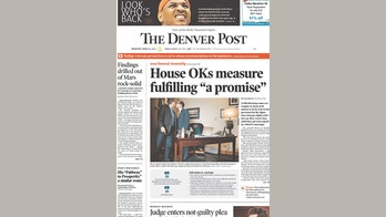 No big kiss -- the Denver Post's controversial cover