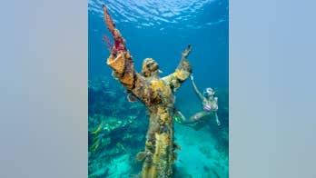 Florida Keys' underwater Jesus statue is Easter snorkeling destination