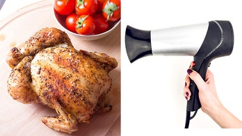 Woman uses $400 hair dryer to make roasted chicken