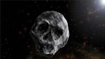 Eerie skull-shaped asteroid will zoom past Earth just after Halloween