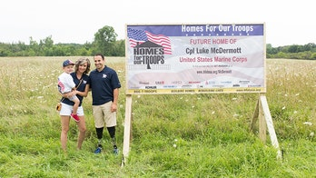 Paralympian Marine vet is gifted a custom home