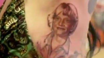 Kat Von D Walks Off Set, Gets Jesse James Tattoo