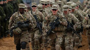US troops deploy to Lithuania during heightened tensions in Eastern Europe