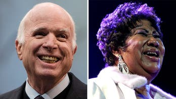 John McCain and Aretha Franklin were icons embraced by America