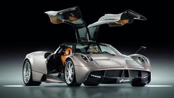 Italy's $1.4 Million Pagani Huayra Supercar