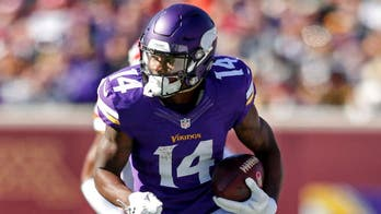 Minnesota Vikings' Stefon Diggs shows frustration over lack of production in playoff game