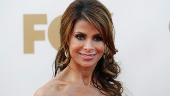 Paula Abdul falls off stage during live performance