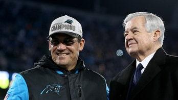 Coach Rivera and Carolina Panthers 'keep pounding' all the way to Super Bowl