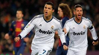 Soccer:  Ronaldo's Big Week, Barcelona's Bad One