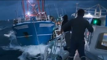 British fisherman call on Navy to protect them from aggressive French rivals in 'Scallop Wars'