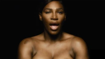Serena Williams goes topless, sings 'I Touch Myself' in breast cancer awareness video