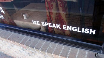NJ business owner apologizes for sign: 'Speak English or pay $10 extra'