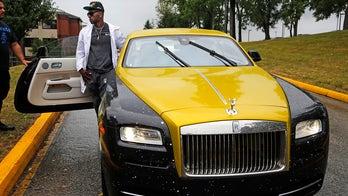 Antonio Brown unveils $300,000 Steelers-themed Rolls Royce