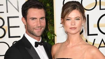 Adam Levine's wife Behati Prinsloo says she was 'lucky' to not work for 3 years to take care of kids