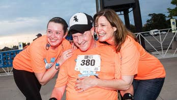 Runner with ALS finishes his first 5K