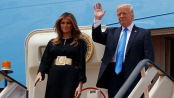 Melania Trump in Saudi Arabia: Hijab-free and proudly American