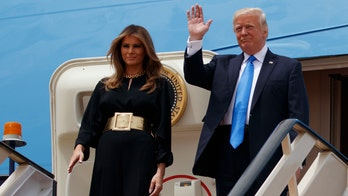 Melania Trump in Saudi Arabia: Hijab-free and proudly American