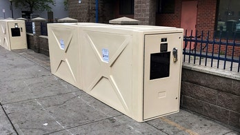 Denver removes outdoor storage containers after reports of homeless people living in them