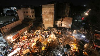 India hotel collapse kills 10 people; 10 others pulled from rubble alive