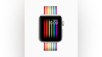 Apple Watch Gay Pride face displaying rainbow flag disabled in Russia, developer alleges