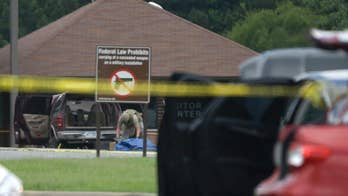 No explosives, terrorism links found in home, car of man shot trying to get on base